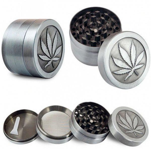 Tērauda tabakas smalcinātājs Grinder Crusher THC