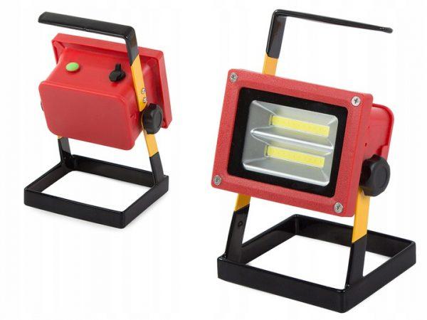 LED 30W Pārnēsājams prožektors ar lādējamu akumulatoru IP65
