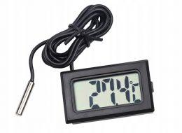 LCD elektroniskais termometrs ar zondi