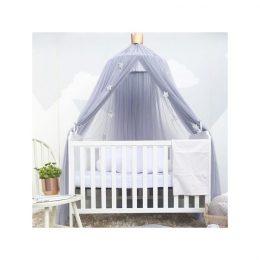Nojume - tilla baldahīns bērnu gultiņai