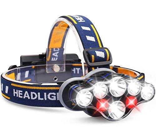 7 LED galvas lukturis