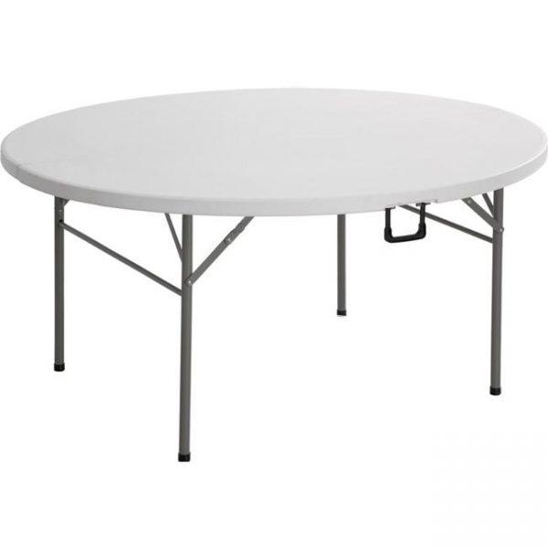 Liels - saliekams apaļs galds - čemodāns 122