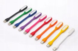 USB silikona LED lampiņa