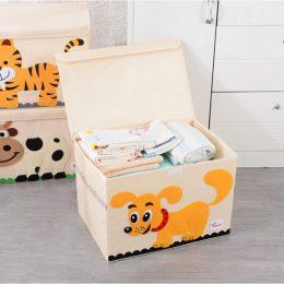Mantu kaste - grozs organizātors rotaļlietām M1