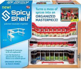 Virtuves plaukta organizātors - garšvielu plauktiņš - organizātors Spicy Shelf