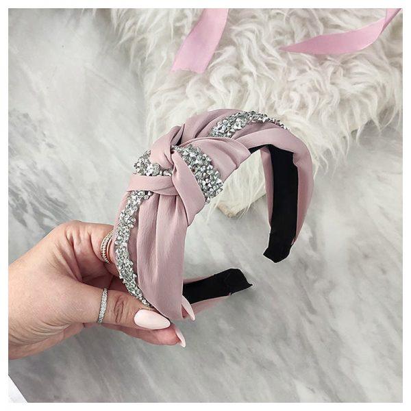 Matu stīpiņa rozā krāsā MO344