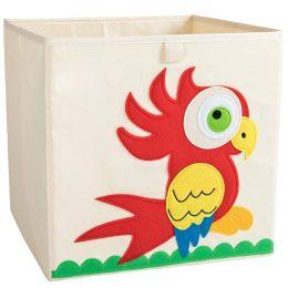 Mantu kaste - grozs organizātors rotaļlietām 33x33 cm M7