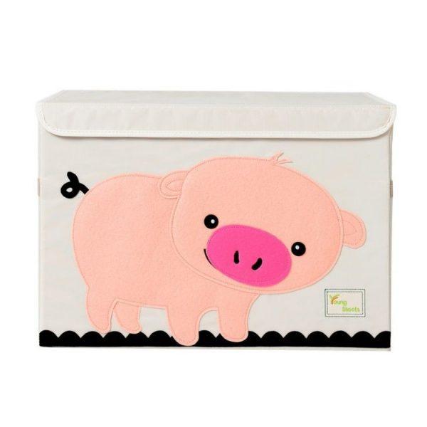Mantu kaste - grozs organizātors rotaļlietām M3