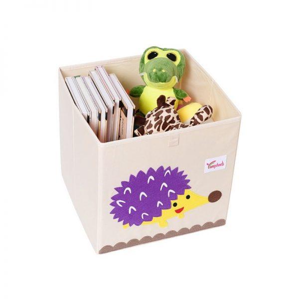 Mantu kaste - grozs organizātors rotaļlietām 33x33 cm M2
