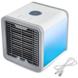 Portatīvais gaisa kondicionieris - mini gaisa dzesētājs 3in1 LED
