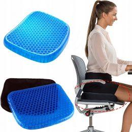 Ortopēdiskais gēla spilvens - krēsla paliktnis
