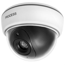 Novērošanas kamera PROCESS - butaforija ar LED diodi