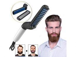 Taisnotājs - elektriskā matu ķemme, suka bārdai