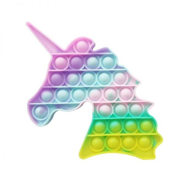 Sensorā rotaļlieta Antistress Push Bubble Pop It Unicorn