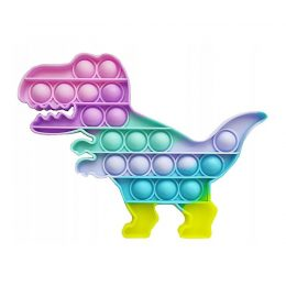 Sensorā rotaļlieta Antistress Push Bubble Pop It DINO