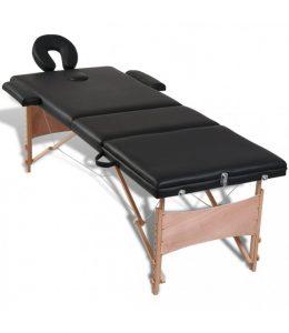 SaliekSaliekams masāžas galds - masāžas kušete 3 daļīga 3 zonu BLACKams masāžas galds - masāžas kušete 2 daļīga 2 zonu CREAM