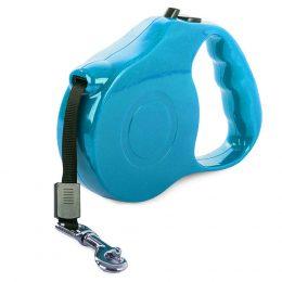 Automātiskā siksniņa - pavadiņa suņiem 5m līdz 15 kg zila